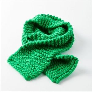 🆕NWT Handmade Chunky Knit Acrylic Scarf